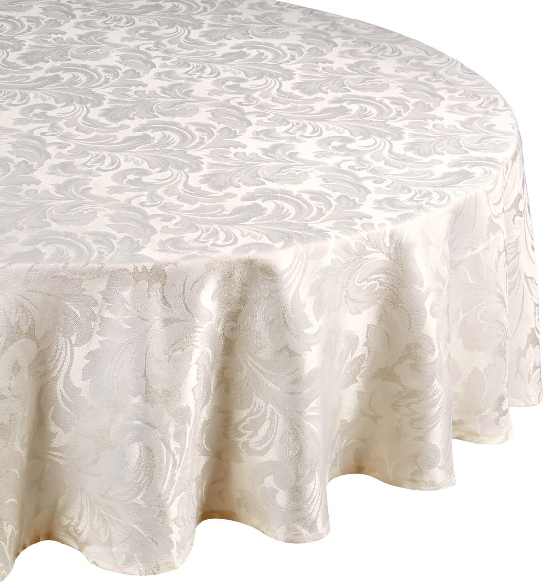 """183cms diameter available in White//Cream A Round//Circular Lace Tablecloth 72/"""""""