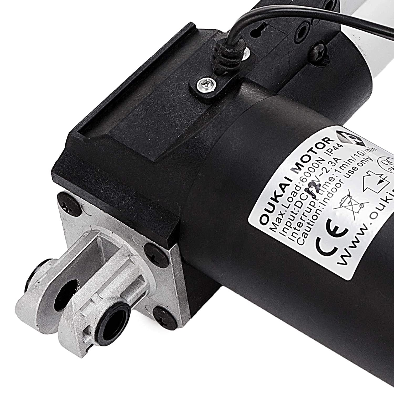 Hopopular 6000N/1320LB Linear Actuator 12 Inch Linear Actuator