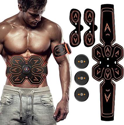 ABS Stimulator Bauchmuskeltrainer EMS Trainingsgerät Elektro Muskel Exerciser