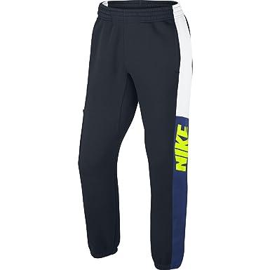 Nike Club Cuff Pant-New Clrblk - Pantalón para Hombre, Color Azul ...