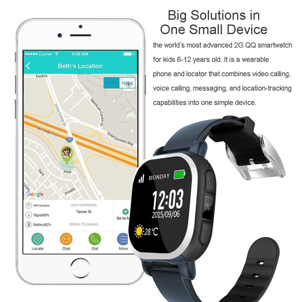 Reloj inteligente Tencent antipérdida para niños con seguimiento ...
