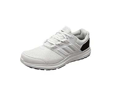 adidas Galaxy 4 M, Chaussures de Running Compétition Homme, Gris (Grey Five F17/Core Black/Ftwr White), 46 2/3 EU
