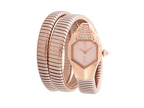 Just Cavalli Womens Analogue Classic Quartz Watch with Stainless Steel  Strap JC1L022M0035  Amazon.co.uk  Watches 3f1ebf785