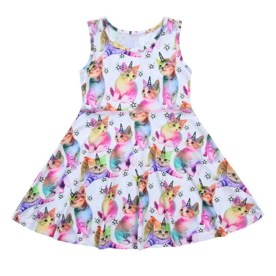Liliane Tutu Dress for Girls Summer Dresses for Girls Dress 4t 5t Dresses for Girls(A009,4-5Y) by Liliane (Image #2)