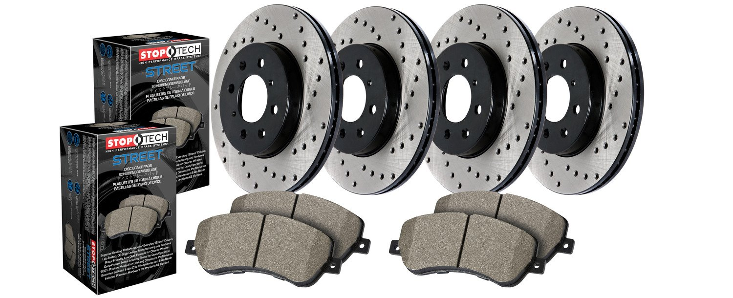 StopTech 936.62030 Street Axle Pack