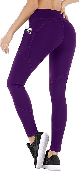 Amazon.com: Ewedoos - Pantalones de yoga con bolsillos para ...