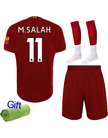 7c9db571c Kecko 2019/20 Soccer Home Red Kit Football Jersey Strips New Kids Adult  Sport Outfit