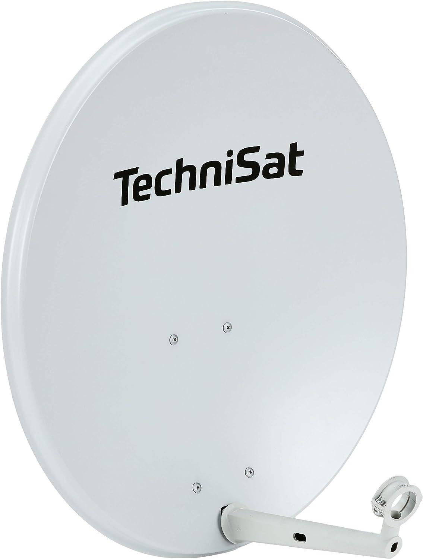 Technisat Technitenne 70 Satellitenschüssel 70 Cm Digital Sat Anlage Antenne Mit Masthalterung Vorbereitet Für Die Aufnahme Eines 40 Mm Lnb Lichtgrau Baumarkt