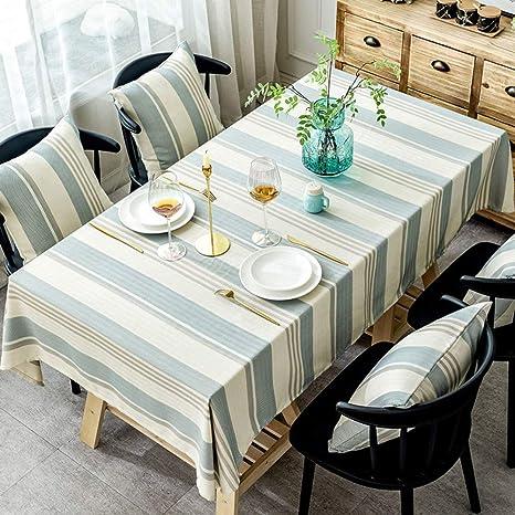 JLYZB - Mantel nórdico Moderno para Mesa de té (130 x 220 cm ...
