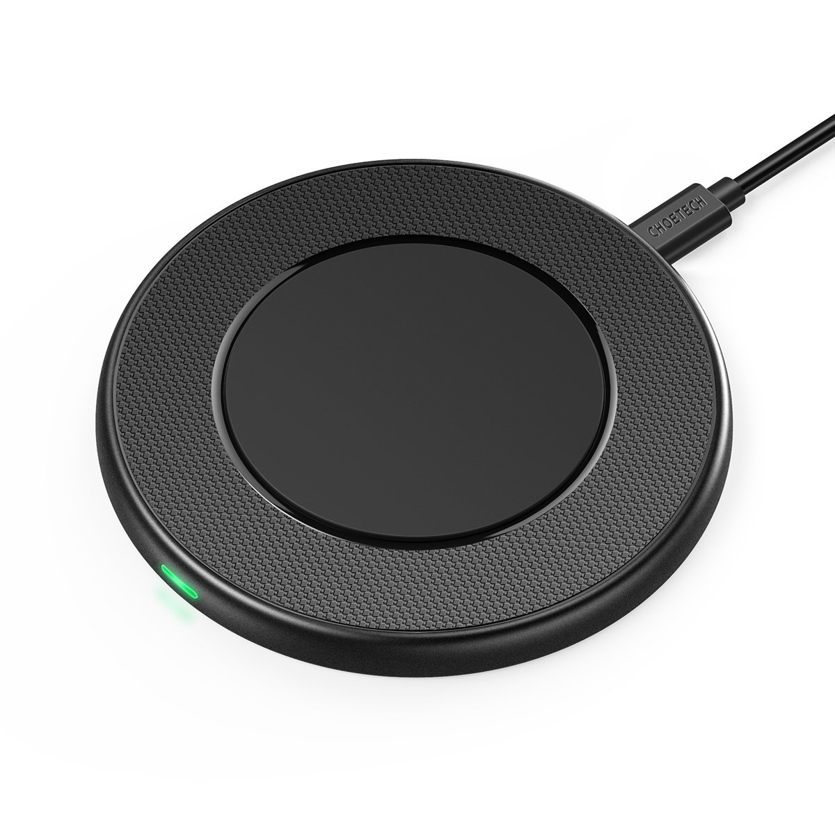 Wireless Charger, CHOETECH 7.5W Wireless Charging Pad Compatible with iPhone X/XS/XS Max/XR/8/8 Plus, 10W Fast Wireless Charger Compatible with Samsung Galaxy S9/S9+/S8//Note 9/Note 8/S7/S7 Edge/More
