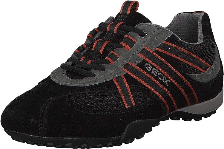 GEOX RESPIRA BEQUEME Schuhe Sneaker Gr. 40 GLATT + LACK