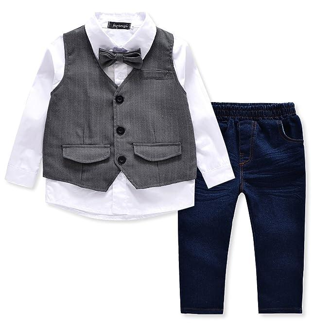 Amazon.com: FERENYI - Conjunto de ropa infantil para niños y ...