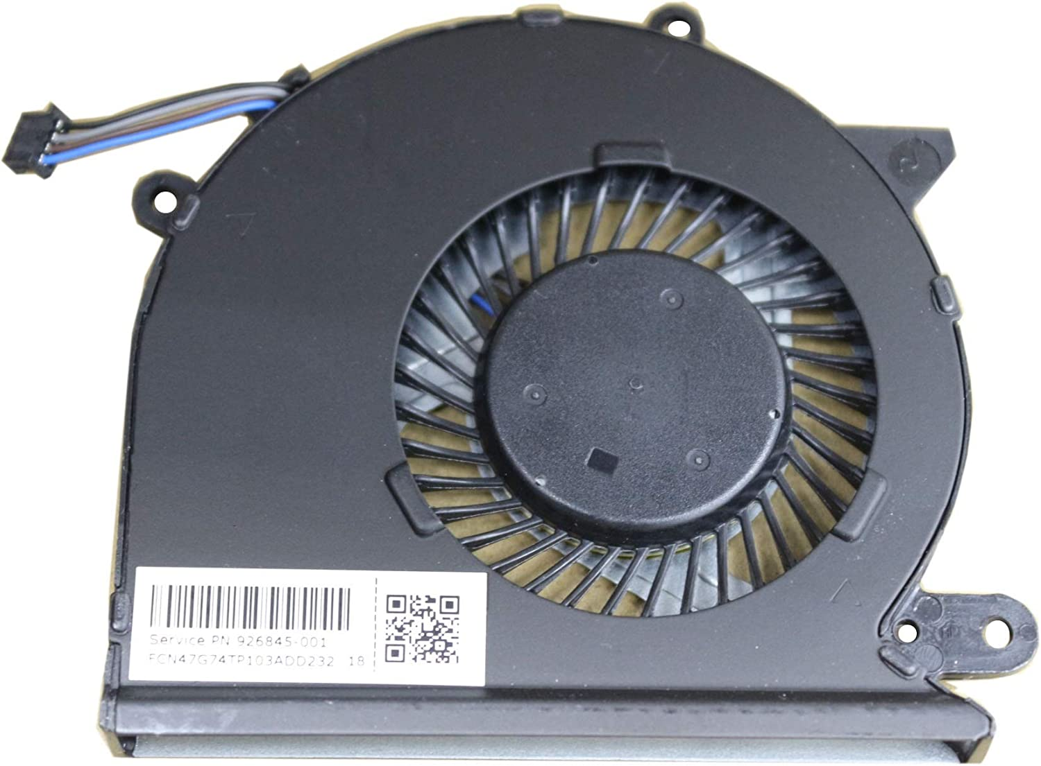 GIVWIZD Laptop Replacement CPU Cooling Fan for HP Pavilion 15-CC552tx 15-CC553cl 15-CC554nr 15-CC555nr 15-CC561st 15-CC563st