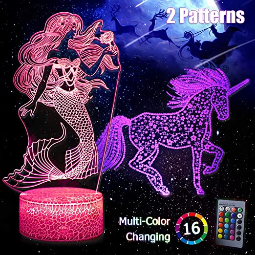 Nightmare before Christmas Colour changing mood lamp