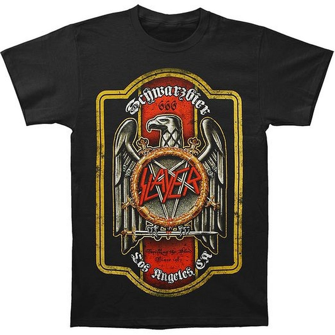 ill Rock Merch Slayer Bier Label Shirt