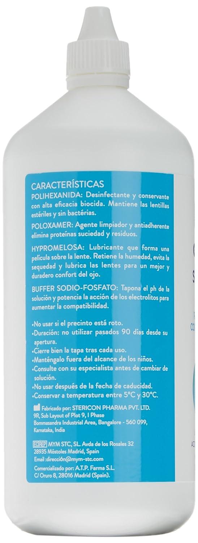 Senti2 Solución Única para Lentes de Contacto Blandas - 500 ml: Amazon.es: Salud y cuidado personal