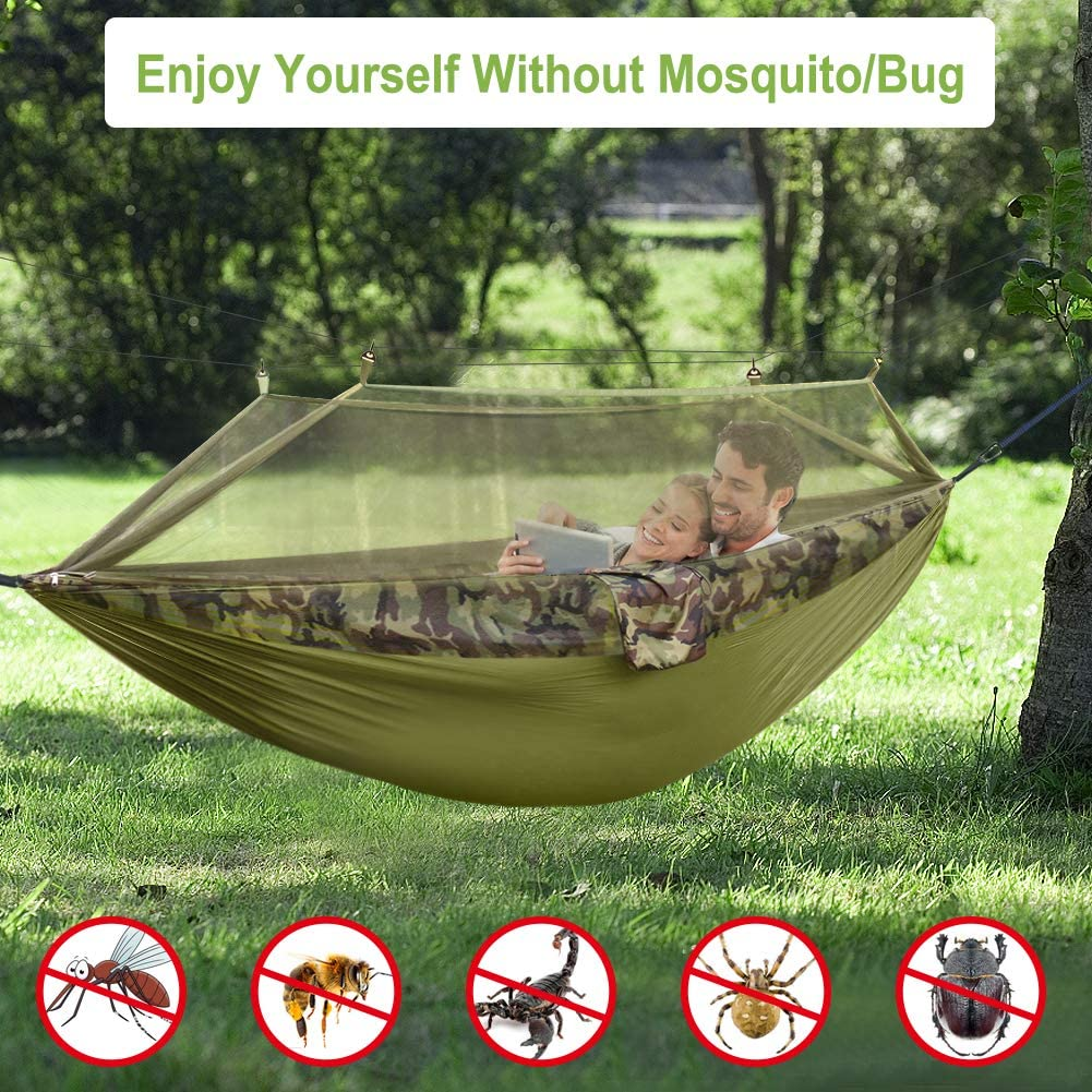 Free Amazon Promo Code 2020 for Double Camping Hammock with Mosquito Net