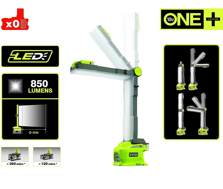 18v Led Lumens R18alf Oneplus Ryobi 850 0 Lampe Modulable 3ARq5ScjL4