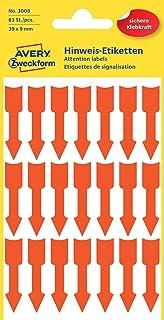 tag-a-room Farbkodierte Pfeil Aufkleber Etiketten 536/Z/ählen