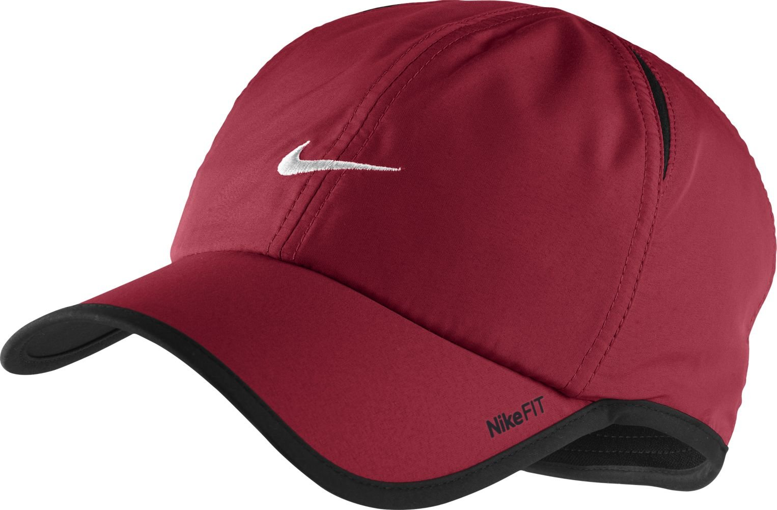 Nike Feather Light Cap (One Size, Red) by NIKE