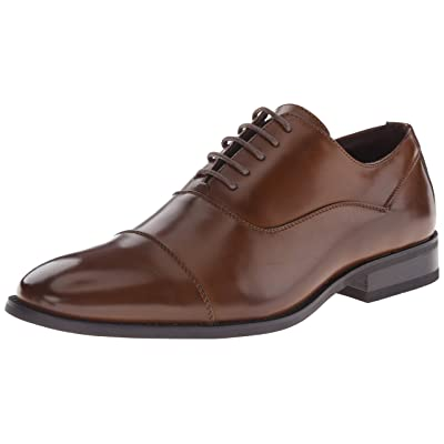 Kenneth Cole Unlisted Men's Half Time Oxford, Cognac, 13 M US | Oxfords