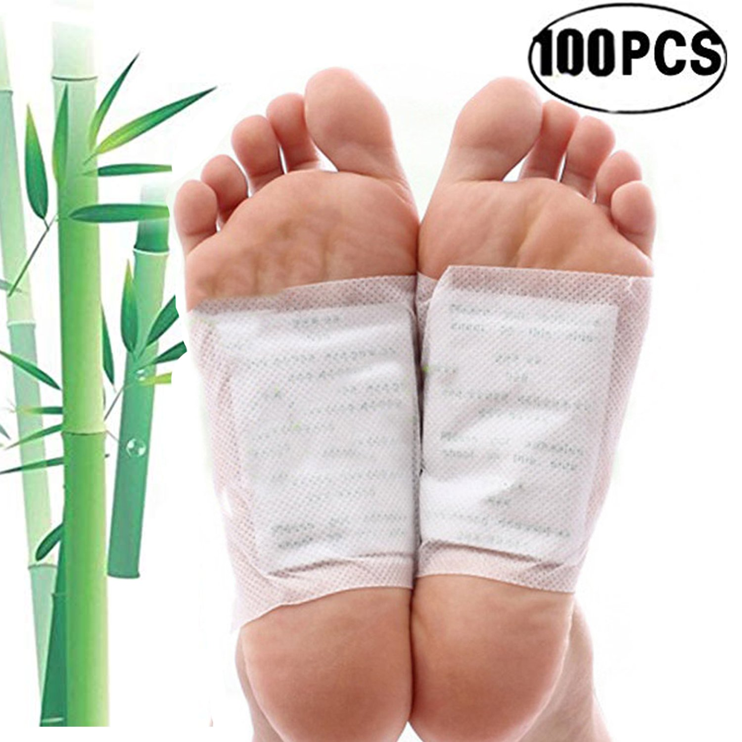 Foot Patches,Kapmore 100Pcs Foot Pads Patches Pain Relief Health Care Foot Care Pad Foot Pads Patch Adhesive Sheet