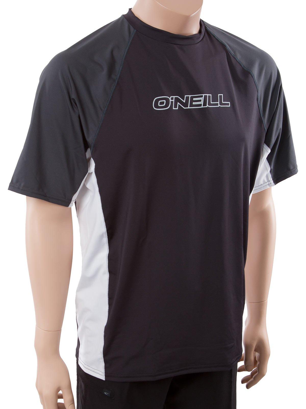 O'Neill Men's 24/7 Sun tee S Black/White/Graphite (UV50+) by O'NEILL