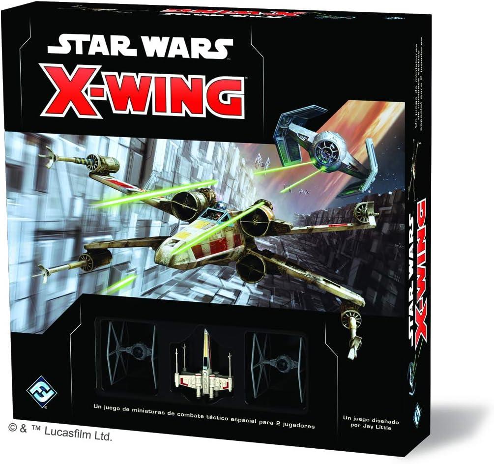 Fantasy Flight Games- Star Wars: X-Wing Segunda Edición - Español, Multicolor (SWZ01ES): Amazon.es: Juguetes y juegos