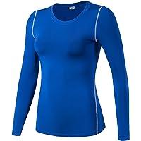 Tops de manga larga de running para mujer
