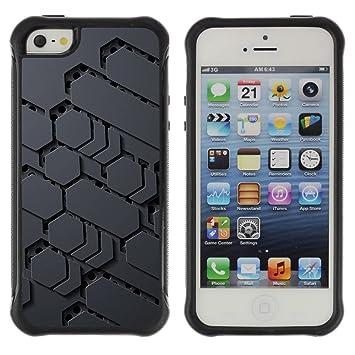 Suave Caso Carcasa de Caucho Funda para Apple Iphone 5 / 5S ...