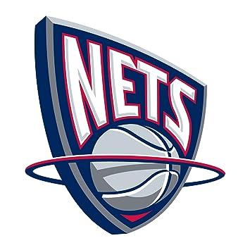 New Jersey Nets de la NBA baloncesto escudo pared vinilo adhesivo adhesivo pared arte 60 cm x 60 cm (600 mm x 600 mm): Amazon.es: Deportes y aire libre