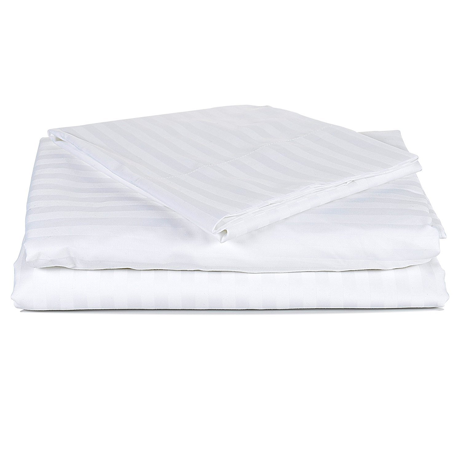 Pure Element Wrinkle-free Luxury Hotel Style 4-Piece Sheet Set, Premium Ultra Comfortable and Soft Design, Single Ply Egyptian Cotton - California King Size - By