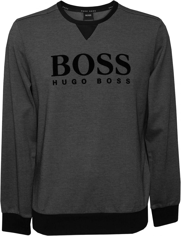 BOSS Camiseta De Chándal De Algodón De Hugo Hombres Piqué, Gris ...