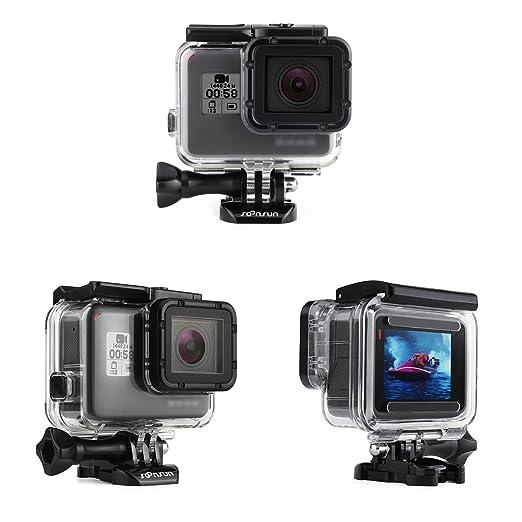Amazon.com: SOONSUN - Carcasa impermeable para cámara GoPro ...
