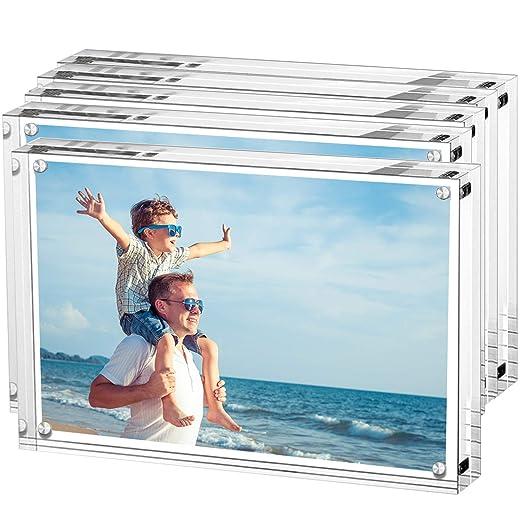 Marco de fotos de acrílico, marco de fotos LileZbox, soporte con ...