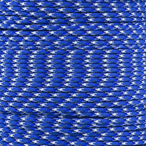 Paracord Planet Nylon 7 Type III Strand Inner Core Paracord - 100 Feet, Bucky Blue Camo by PARACORD PLANET (Image #2)