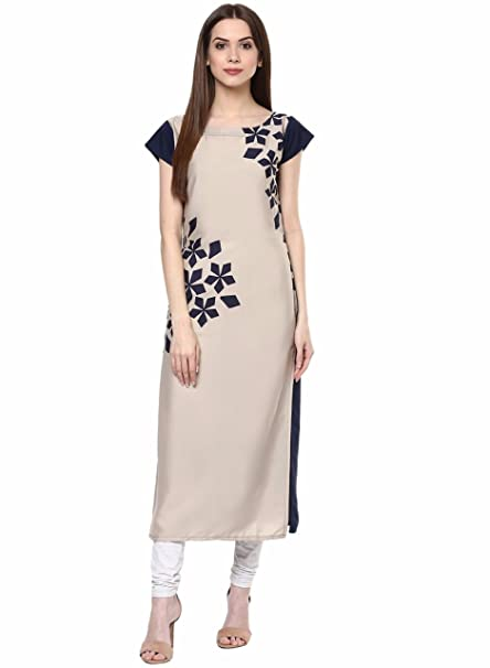 84759e30d6 Indian Women Designer Kurta Kurti Bollywood Tunic Ethnic Pakistani Top Women  Green & Orange Printed A