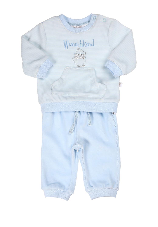 Kanz Unisex - Baby Zweiteiliger Schlafanzug Set 2Tlg. T-Shirt 1/1 Arm Und Hose 0003255