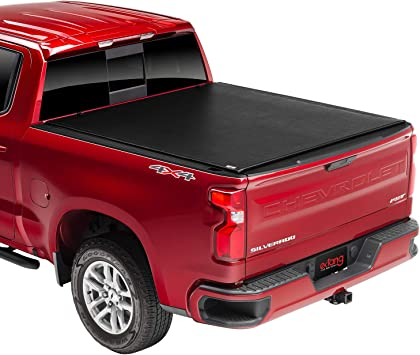 Amazon Com Extang Revolution Soft Roll Up Truck Bed Tonneau Cover 54650 Fits 2007 13 14 Hd Chevy Gmc Silverado Sierra 2014 2500hd 3500hd 6 6 Bed Automotive