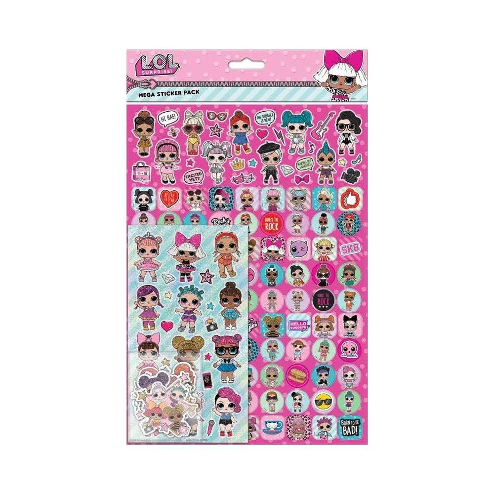 Surprenez Sticker Mega Pack L.O.L