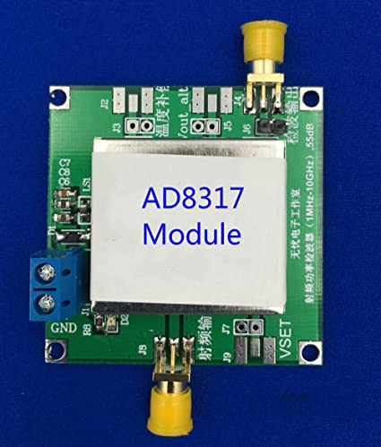 Amazon.com: DC5V AD8317 Modules RF Power Meter Logarithmic Detector Power Controller Signal Amplifier Fm HF VHF UHF1MHz-10GHz: Home Audio & Theater