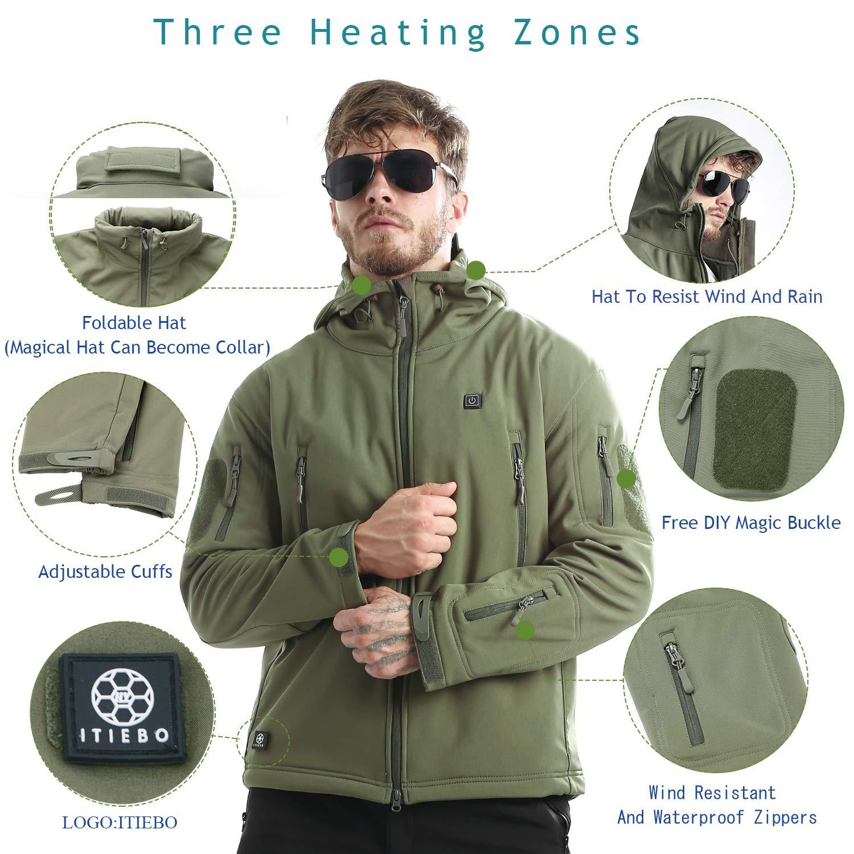 Amazon.com: ITIEBO - Pack de pilas eléctricas para chaqueta ...