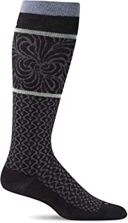 product image for Sockwell Women's Art Deco Moderate Graduated Compression Sock