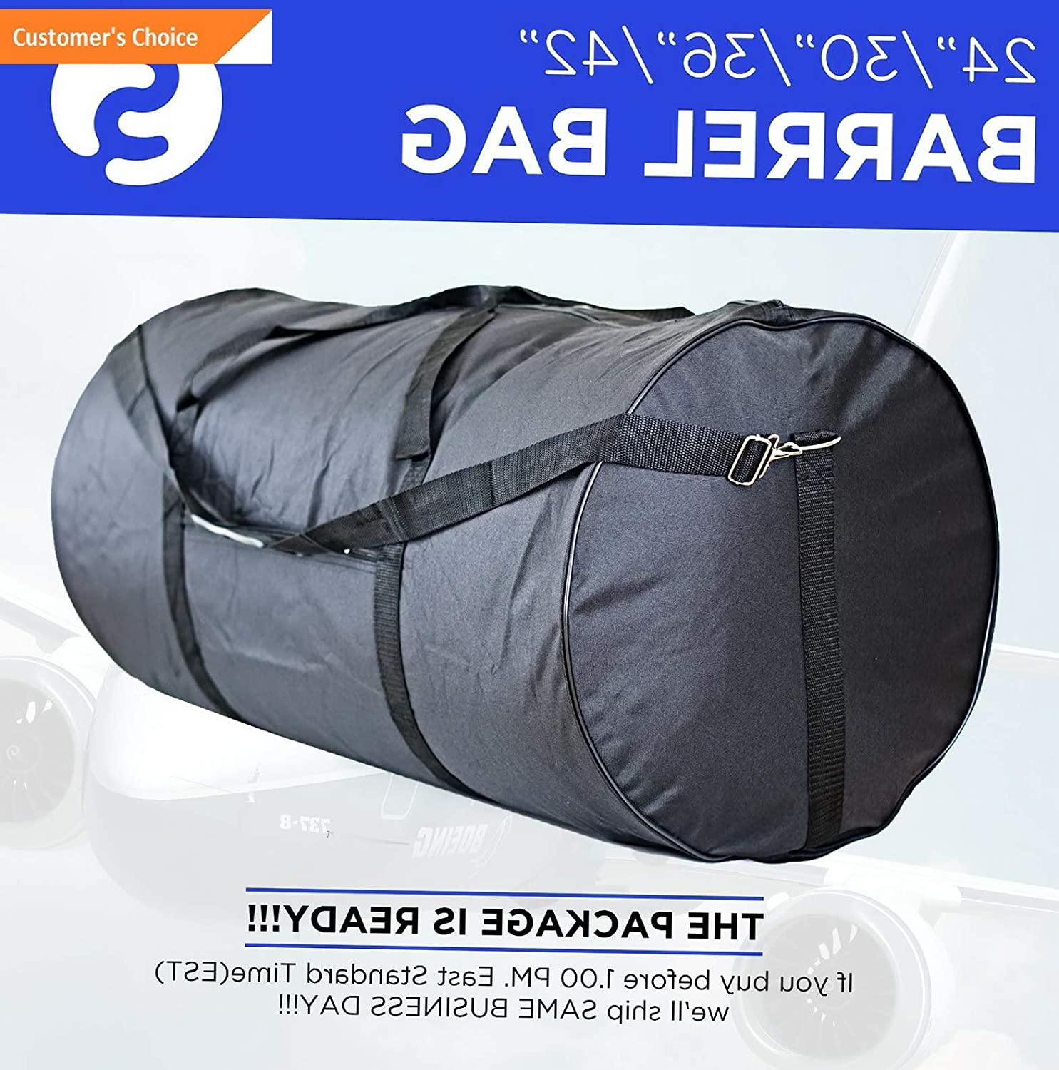 Amazon.com | Sandover Roll Duffle Bag 24 30 36 42 Equipaje gage Roll Bag Maletin Gym Bag Tuna | Model LGGG - 12760 | 42 Inches, 100 Lb | Luggage