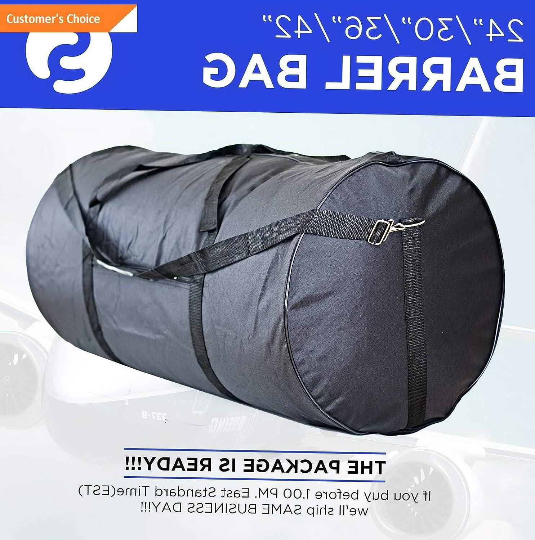 Amazon.com | Sandover Roll Duffle Bag 24 30 36 42 Equipaje gage Roll Bag Maletin Gym Bag Tuna | Model LGGG - 12760 | 42 Inches, 100 Lb | Luggage