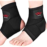 Ankle Brace, 2PCS Breathable & Strong Ankle Support for Sprained Ankle, Stabiling Ligaments, Prevent Re-Injury…