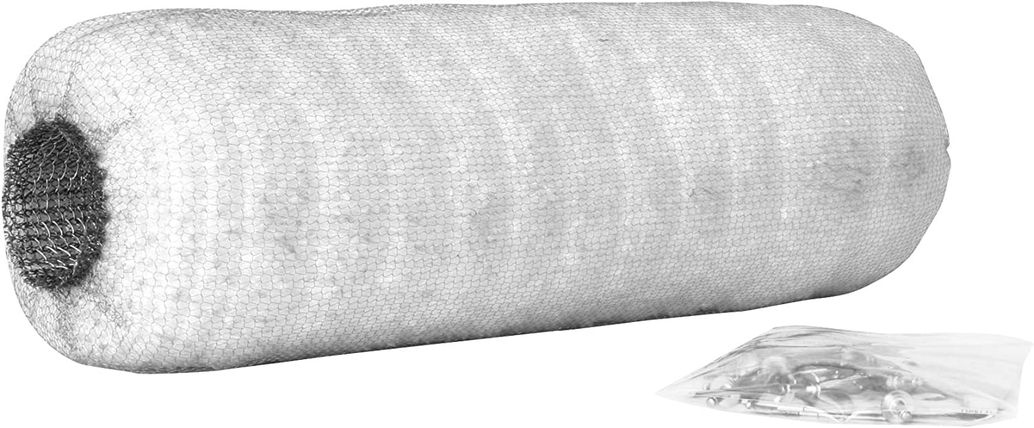 Two Brothers Racing Stainless Steel Wool Wrap for Muffler Repack 005-10038S