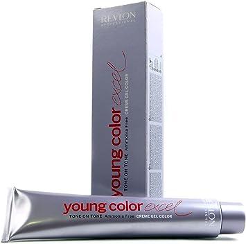 Revlon Young Color Excel, Tinte para el Cabello 071 Rubio de matiz Gris - 70 ml