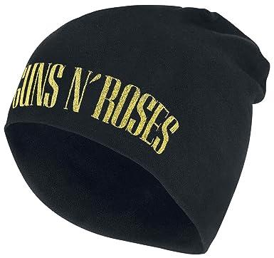 Guns N Roses Logo - Jersey Beanie Beanie Black  Amazon.co.uk  Clothing 237760eeb388