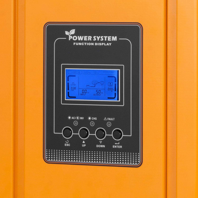 Inselwechselrichter Niederfrequenz-Wechselrichter Reine Sinuswelle Inselwechselrichter VEVOR Reine Sinus Wechselrichter 3KW Niederfrequenz-Solarkonverter 12V